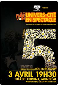 Graphiste d'Univers-Cité en Spectacle 2008-2011