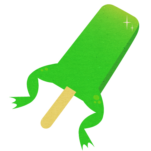frogsicle gabriel raymond graphisme